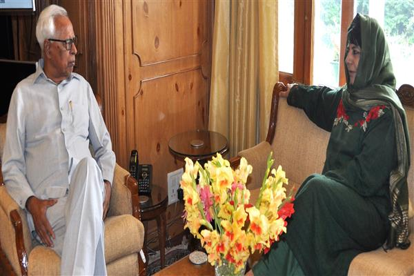 Chief Minister meets Governor | KNO