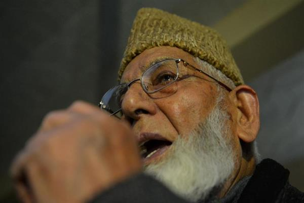 After Allah, Pak only visible hope for Kashmir : Geelani | KNO