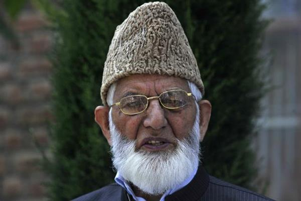 Geelani expressed grief over the loss of lives and properties across valley | KNO