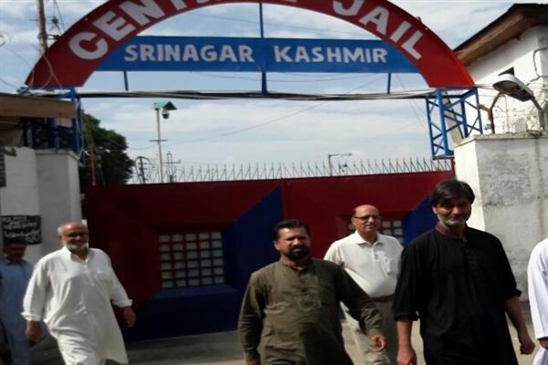 JKLF chairman Muhammad Yasin Malik released from central jail Sgr | KNO