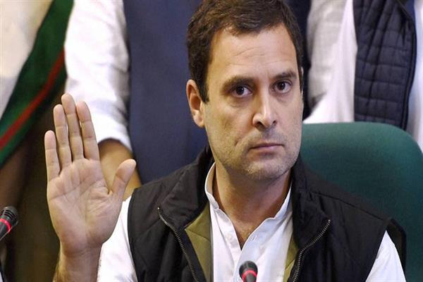 Rahul Gandhi criticises PM Modi's policies in US | KNO