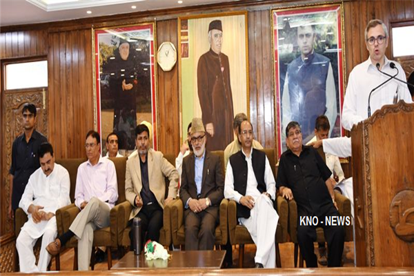 PDP was created after NC passed 'Autonomy' Resolution : Omar | KNO