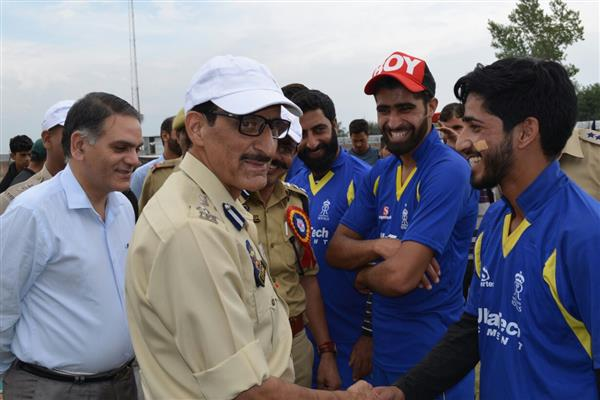 Final of Police Cricket Tourney held in Budgam | KNO