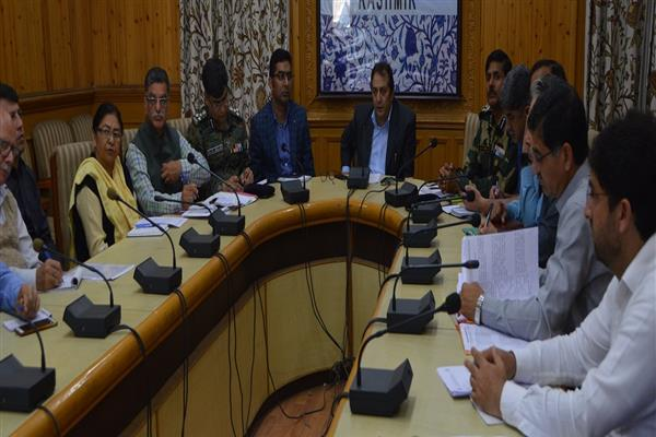 Ensure smooth conduct of Amarnath Yatra-2019: Div Com to Officers | KNO